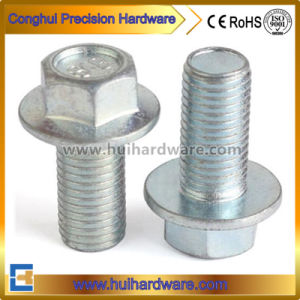 Special Flange Head Bolt with Zinc Plated pictures & photos