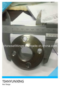 DIN 11853-2 (short) Stainless Steel Weld Neck Nut Flange pictures & photos