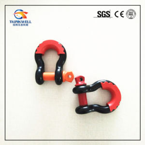 Forged Painted Screw Pin Hitch Receiver Shackle pictures & photos