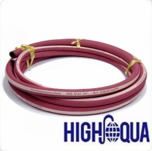 Cloth Surface High Pressure Fire Suppression Hose pictures & photos