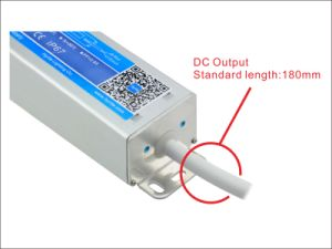 Bis Approval Slim Efficiency90% 12V 100W IP67 LED Power Supply pictures & photos