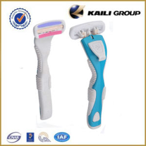 Good Quality System Razor for Women- Triple Blades Popular Style pictures & photos