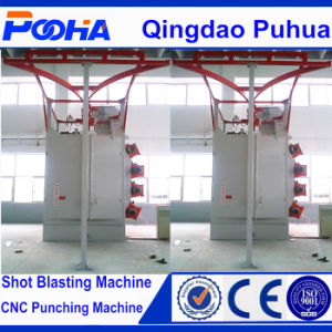 Double Hook Shot Blasting Cleaning Machine pictures & photos