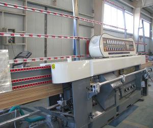 Manufacturer Supply PLC Control Glass Miter Edging Machine