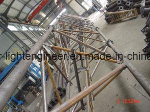 Self Support Galvanization Tubular Pipe Lattice Tower pictures & photos