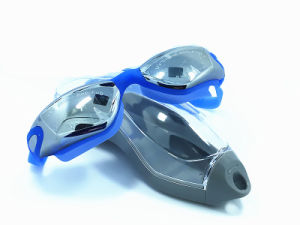 Hot Sale Safety Silicone Swimming Goggles Wholesale pictures & photos