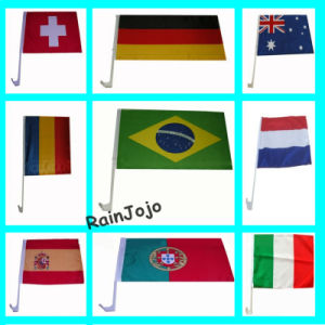 Printed Different Countries Car Flag pictures & photos
