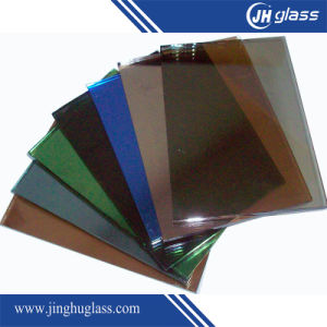 6mm Flat Euro Bronze Insulated Reflective Glass for Building pictures & photos