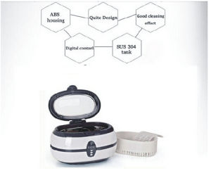 Ultrasonic Mini Cleaner for Earrings Cleaning pictures & photos