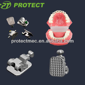 Orthodontic Dental Lingual Self-Ligating Brackets with ISO13485