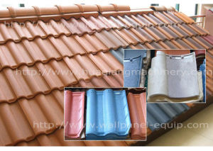 Fully Automatic Energy-Saving Heatproof Roof Tile Machine (HQRT-65)