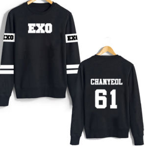 Popular Design Good Quality Round Neck Printing Casual Sweater Hoodie pictures & photos