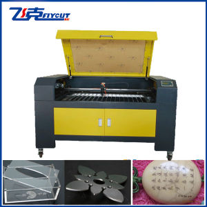 China Professional Acrylic Crystal Fabric Garment Leather Cutting Laser Machine pictures & photos