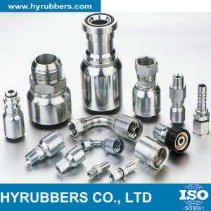 Factory Produced Rubber Hose Fitting, Hydraulic Hose Fitting, Hose Fitting pictures & photos