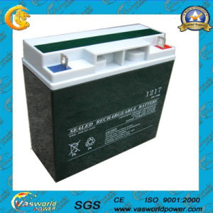 12V17ah Rechargeable Lead Acid Battery pictures & photos