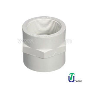 High Quality UPVC Female Adaptor DIN pictures & photos