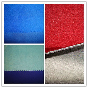 Tricot Fleece Bonded Knit Jersey Fabric pictures & photos