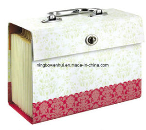 Custom Paper Expanding File Folder 18 Pocket pictures & photos