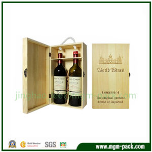High Quality Wood Wine Case with Tools pictures & photos