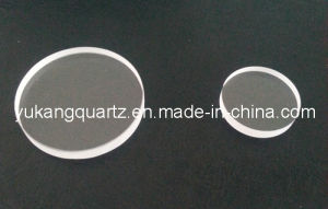 Round Shape Wall Thickness Quartz Plated with Small Tolerance pictures & photos