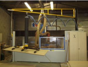 Wood Pallet Vacuum Lifter with Jib Crane pictures & photos