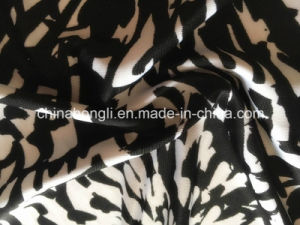 DTY Printing T/Sp 98/2 180 GSM Microfiber Single Jersey Knitting Fabric pictures & photos