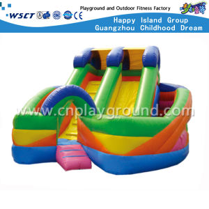 Colorful Outdoor Inflatable Bouncer Slide for Water Park (HD-9501) pictures & photos