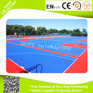 Portable PP Plastic Interlocking Removable Basketball Court Flooring for Basketball Court pictures & photos