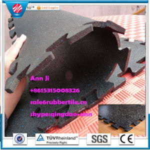 Gymnasium Flooring Rubber Factory Direct Outdoor Rubber Tile Gymnasium Flooring pictures & photos