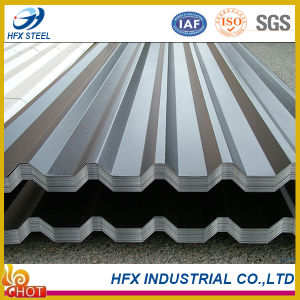 Corrugated Zincalume Steel Roofing Tiles with Az 100g pictures & photos