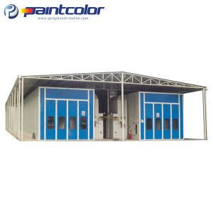 Big Truck Industrial Spray Booth 20m X 5m X 5m pictures & photos