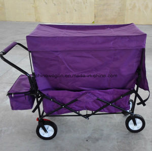 Four Wheels Folding Trolley with Canopy pictures & photos
