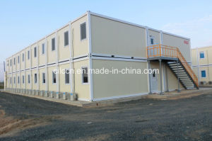 Student Dormitory with Two-Story Container House (CILC) pictures & photos