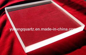 Transparent Optical Quartz Plate pictures & photos