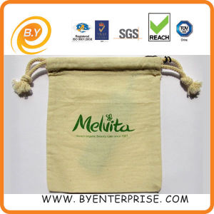 Cotton Drawstring Bag, Muslin Bag, Cotton Pouch