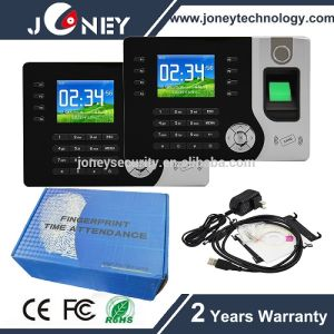 Realand Jyf-C071 Biometric Fingerprint Clock Attendance System RFID for School pictures & photos