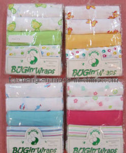 75x75cm Baby Cotton Muslin Squares -Swaddle (12M078)