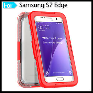 Waterproof Shockproof Dirt Proof Hybrid Rubber Case Cover for Samsung Galaxy S7 Edge
