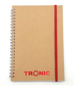 Togo Printing Kraft Cover Spiral Notebooks pictures & photos