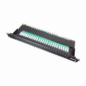 Voice Patch Panel with 50 Ports pictures & photos