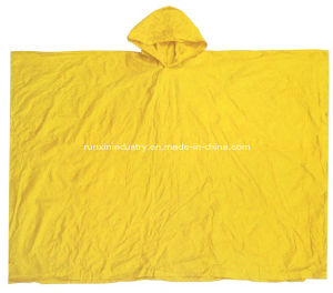 0.12mm Quadrate 100% PVC Rain Cape 50′′*80′′ R9048 pictures & photos