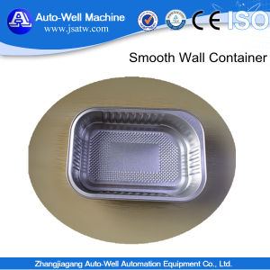 Airline Aluminum Foil Container Food Box pictures & photos
