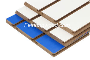 Grooved MDF (Medium-density firbreboard) for Furniture and Decratioin pictures & photos