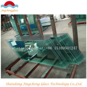 5mm/6mm/8mm/10mm/12mm Tempered Glass Panel with Rough Edge pictures & photos