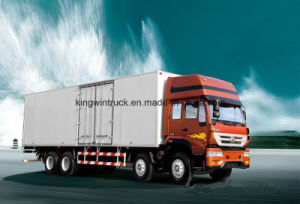 Sinotruk Brand Cargo Truck/Van Truck with 8X4 pictures & photos