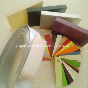 PVC Edge Banding, PVC T Profile, Edgeband Tape for MDF (GS027BALCK)