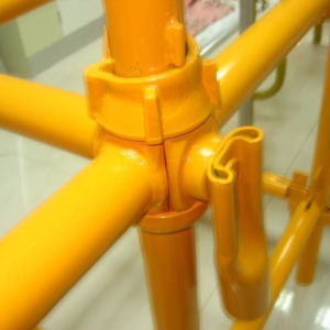 Factory Price Painted Cuplock Scaffolding for Construction pictures & photos