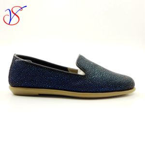 Three Color Soft Comfortable Flax Lady Women Shoes Sv-FT 013