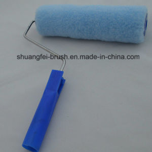 "230mm Blue Polyester Paint Roller with 44mm for 9"" *5 Wire Roller Handle pictures & photos"