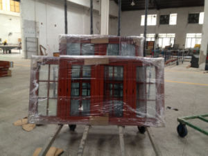 European Standard Double Glazing Aluminum Casement Window pictures & photos
